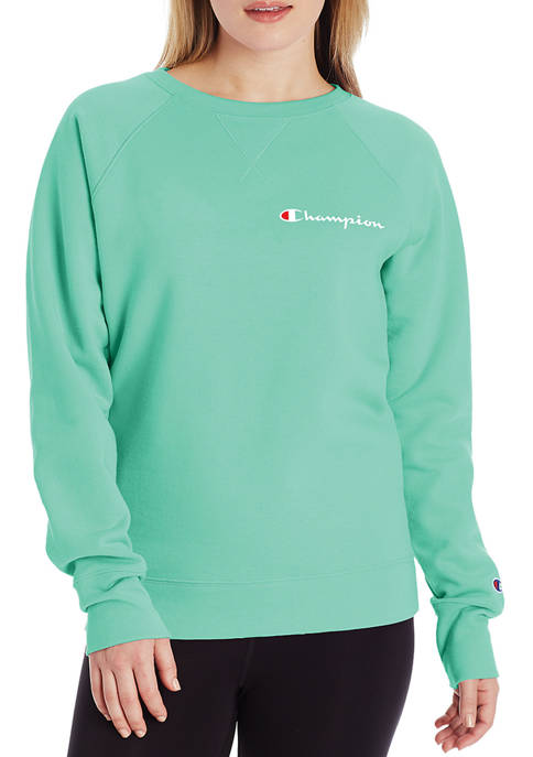 PowerBlend Graphic Crew Neck Pullover