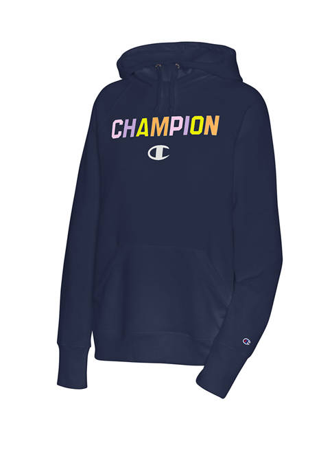 Champion® Powerblend® Rainbow Graphic Hoodie