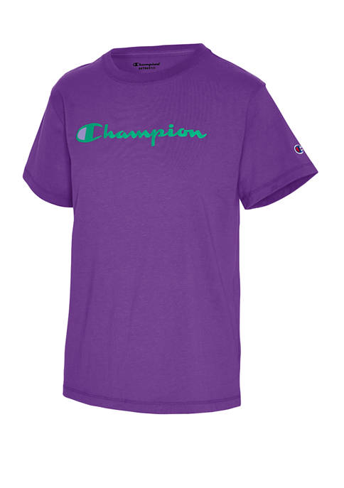 Champion® Classic Logo Graphic T-Shirt