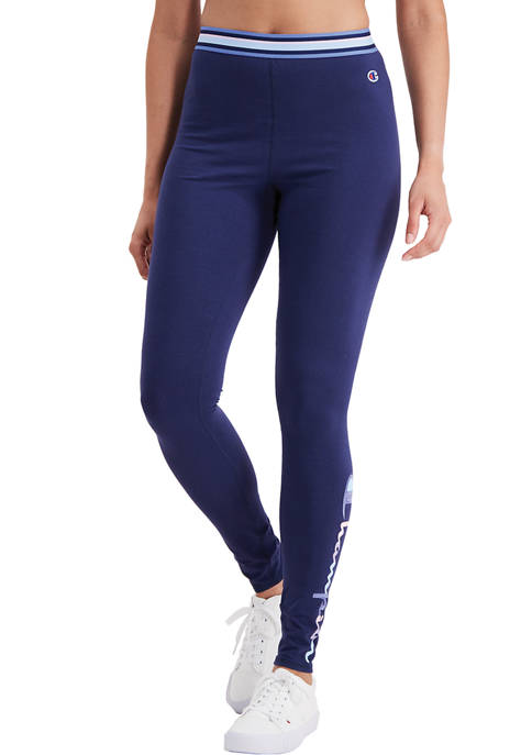 Authentic Tights with Logo Graphic
