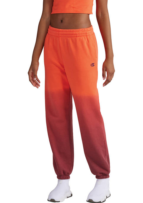 Champion® Boyfriend Fleece Dip Dye Sweatpants