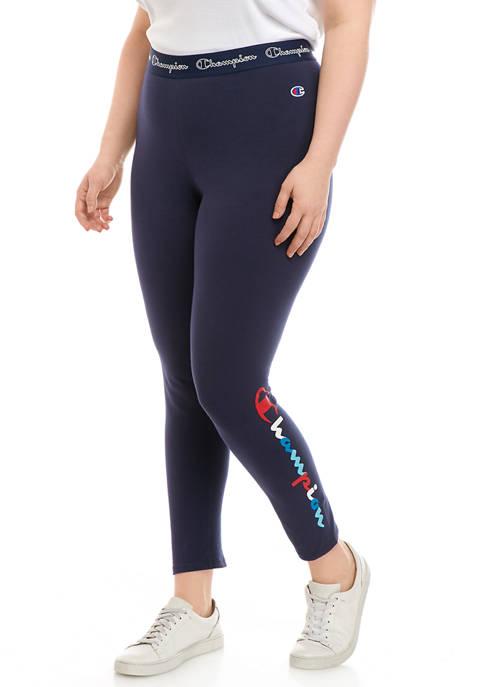 Champion® Plus Size Authentic 7/8 Leggings