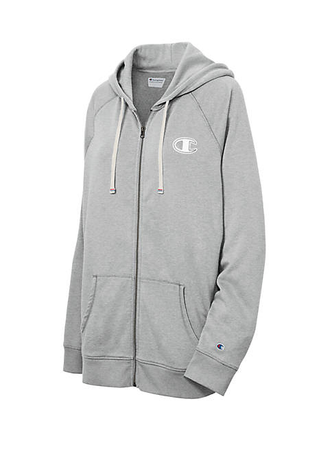 Plus Size Heritage French Terry Zip Hoodie