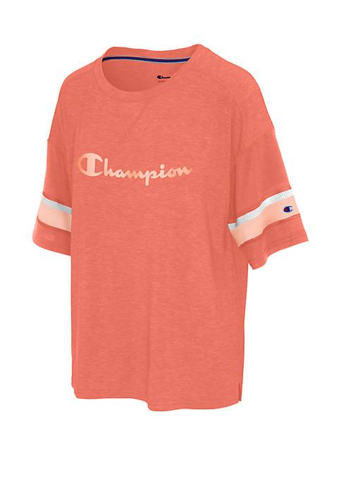 Champion® Physical Education Football Tee