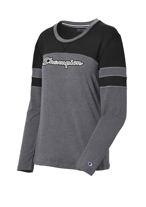 Champion® Phys Ed Long Sleeve T-Shirt