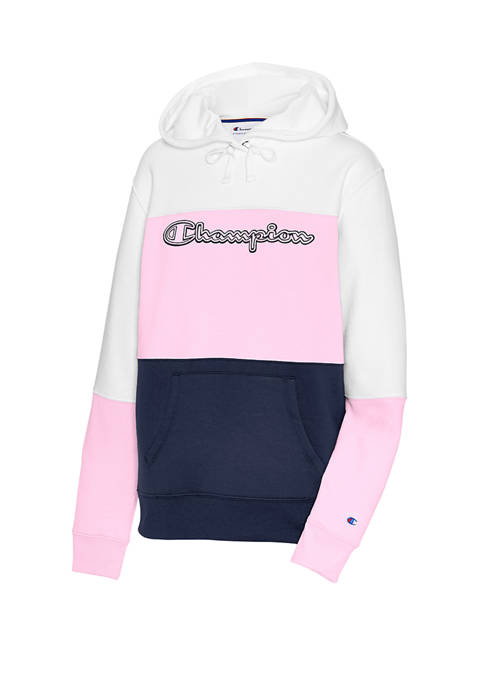 Champion® Powerblend® Color Block Hoodie