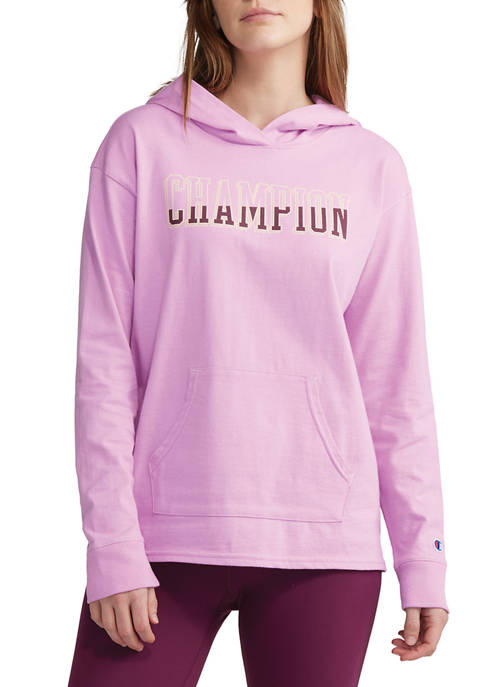 Champion® Midweight Jersey Graphic Hoodie