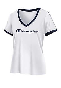 6fa9d0e3b Champion® Virginia Cavaliers National Champions T Shirt · Champion®  Heritage V Neck Ringer Tee