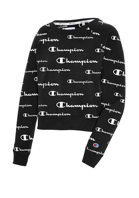 Champion® Campus French Terry Crew Neck Sweatshirt