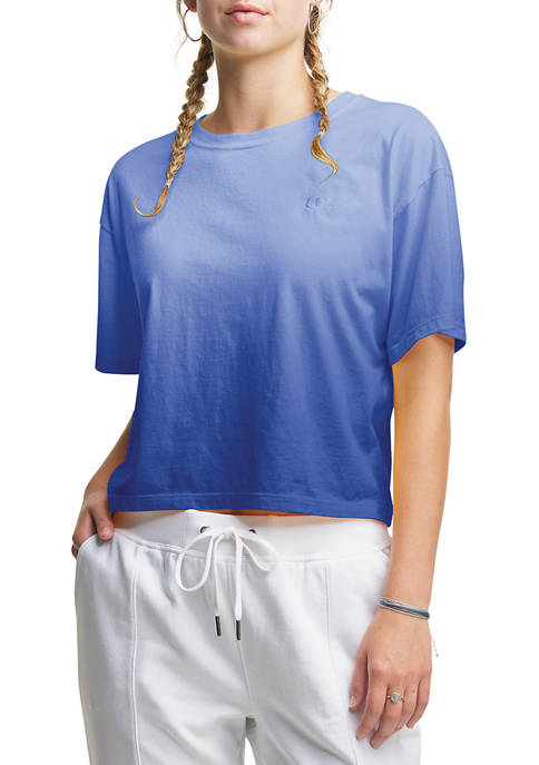 Champion® The Cropped Ombré T-Shirt