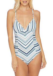 Splendid Line of Sight One-Piece Swimsuit