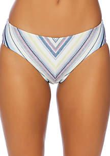 Splendid Line Of Sight Multi Retro Bikini Swim Bottoms