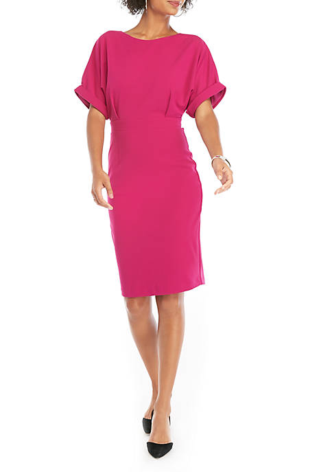 THE LIMITED Dolman Sleeve Dropped Shoulder Sheath Dress