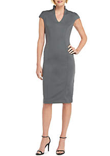 THE LIMITED V Neck Midi Dress