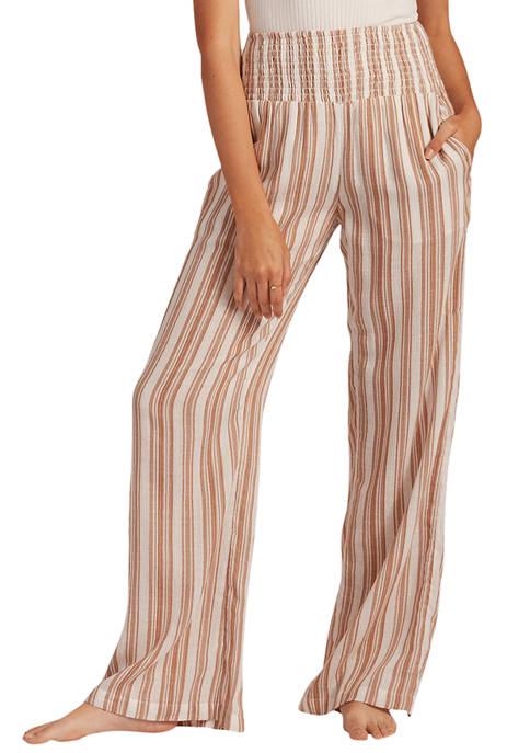 Billabong New Waves Striped Pants