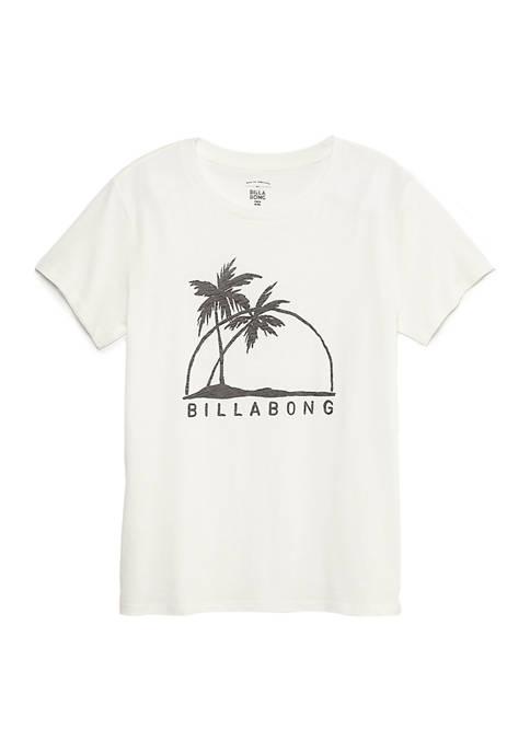 Short Sleeve Palm Tree Graphic T-Shirt