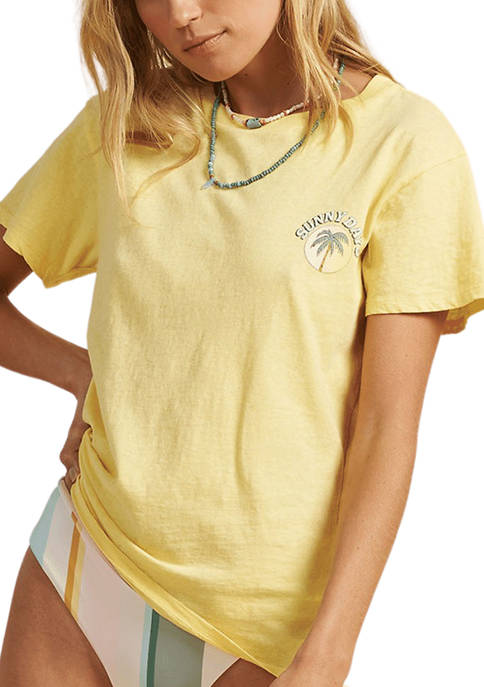Billabong Short Sleeve Sunny Days Graphic T-Shirt