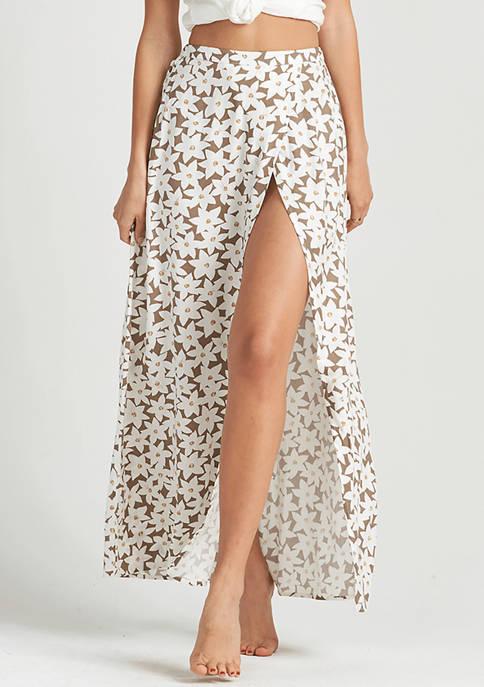 Billabong High Heights Maxi Skirt with Slit