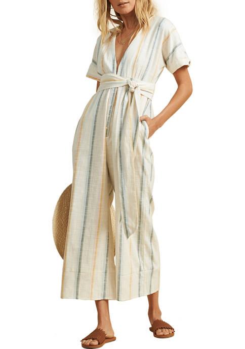 Billabong Striped Dream Weaver Jumpsuit