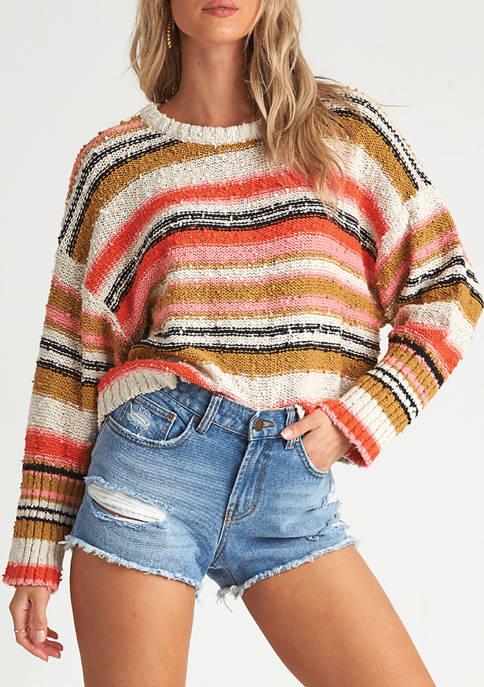 Billabong Easy Going Pullover Stripe Sweater