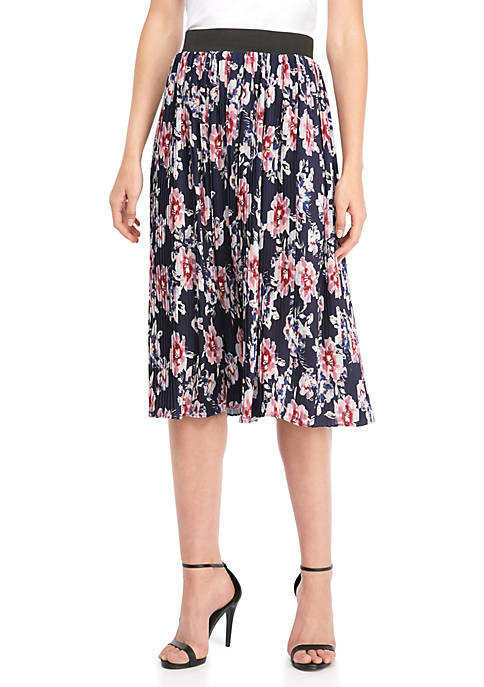 Floral Printed Boudre Skirt