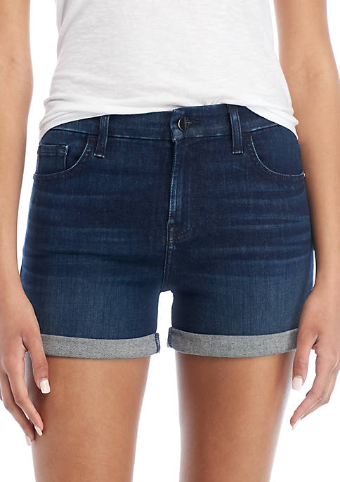 7 For All Mankind® Mid Rolled Shorts