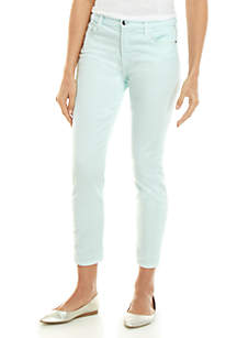 7 For All Mankind® Sateen Ankle Skinny Jeans