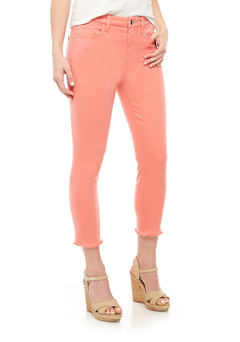 JEN7 by 7 For All Mankind Cropped Skinny