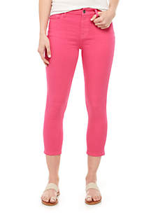 JEN7 by 7 For All Mankind Cropped Skinny Jeans