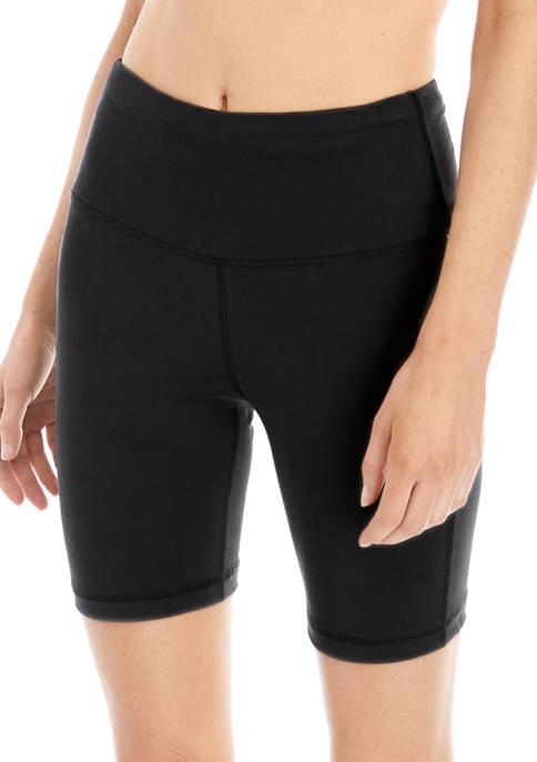 Solid 8 Inch Bike Shorts
