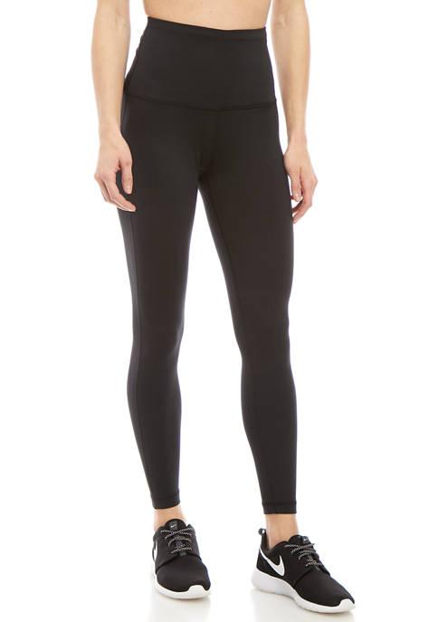 High Waist Basic 7/8 Leggings