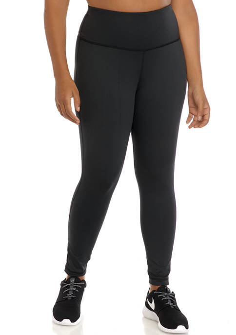 Plus Size Basic 7/8 Leggings