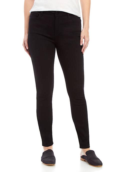 Kaari Blue™ Black Mid Rise Skinny Jeans