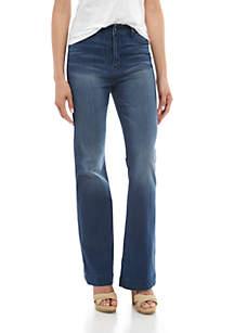 Kaari Blue™ High Rise Five Pocket Flare Jeans