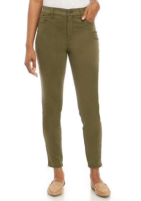 Kaari Blue™ Womens Regular Length Sateen Pants