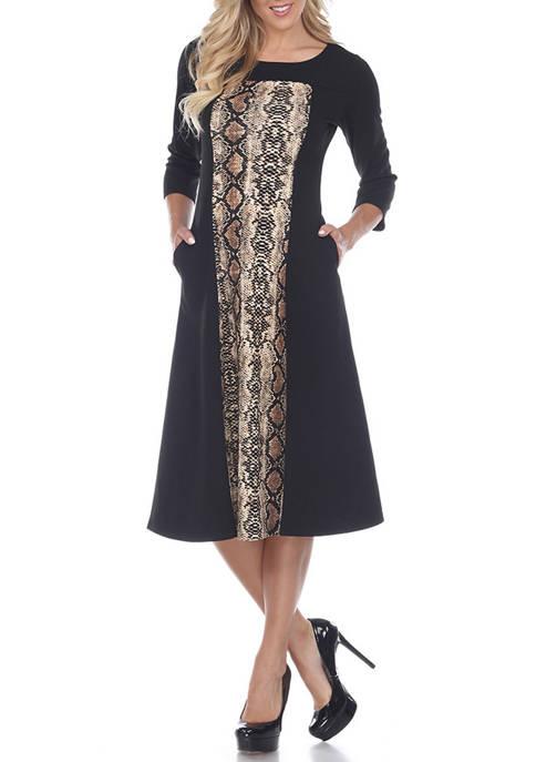 Womens Constance Midi Dress