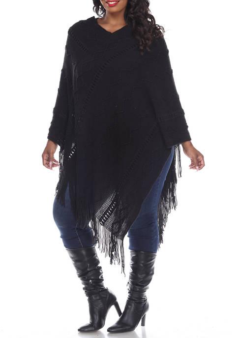 Plus Size Fernanda Poncho