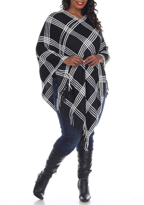 Plus Size Dakota Poncho