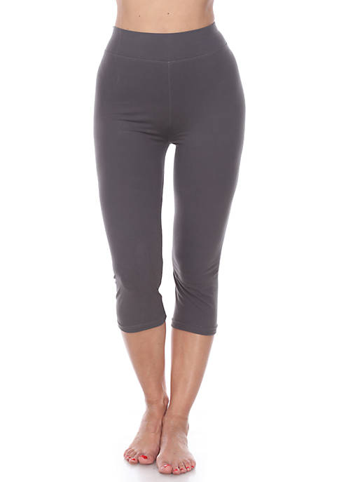Womens Super Soft Capri Leggings