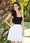 Plain Heidi Flare Skirt
