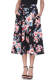 7481a3e66e New Directions® Full Length Maxi Skirt · Floral Midi Skirt
