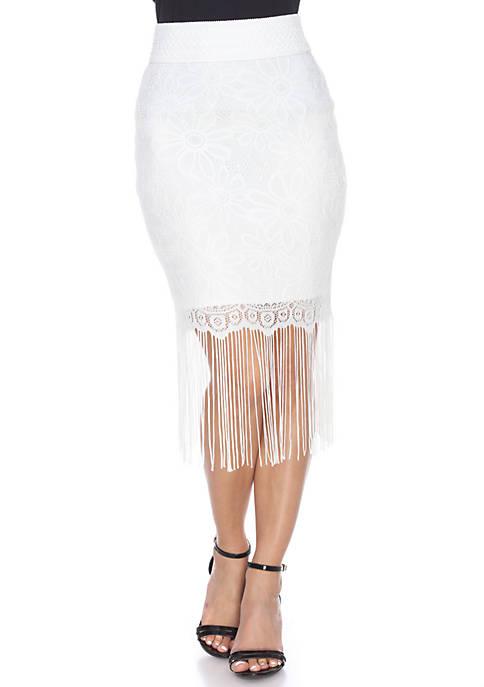 Vega Fringe Skirt