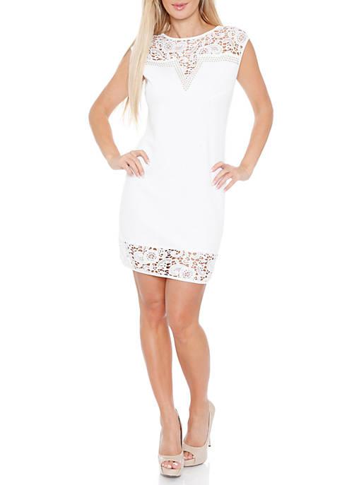 White Mark Charlotte Dress