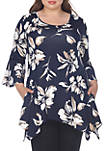 Plus Size Blanche Tunic Top
