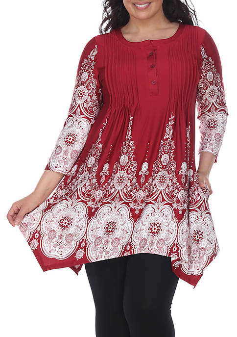White Mark Plus Size Dulce Tunic