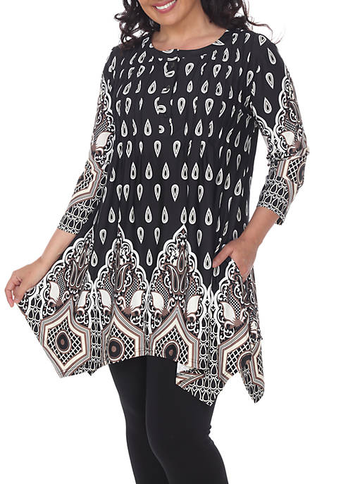 Plus Size Kairi Tunic/Top