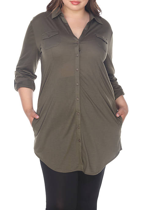 Plus Size Lakota Stretchy Tunic