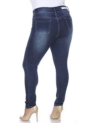 4cf9c8bd3a White Mark. White Mark Plus Size Super Stretch Jeans