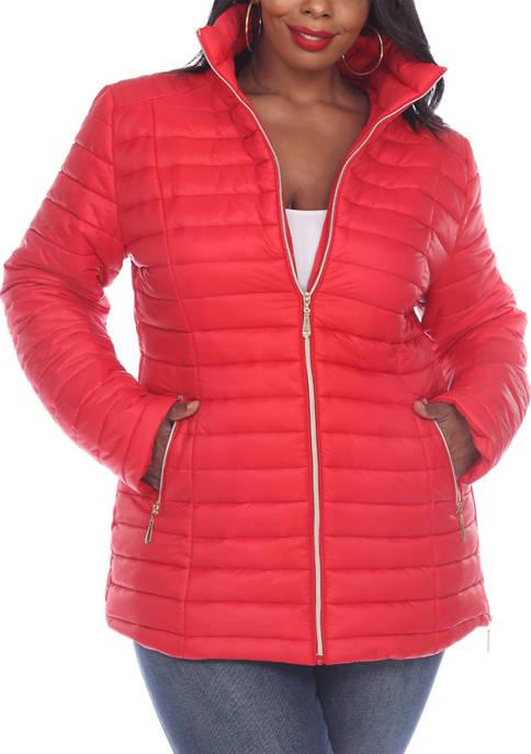 Plus Size Puffer Coat