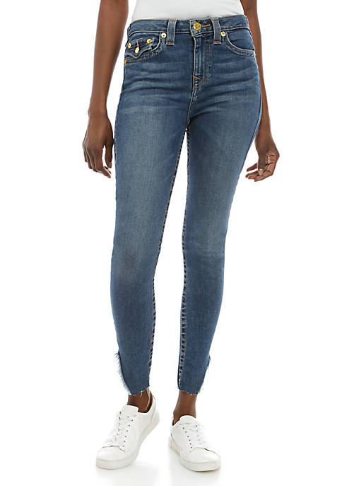 Halle Ankle High Rise Jeans